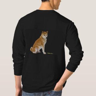 Camiseta Imagem animal para o t-shirt escuro básico dos