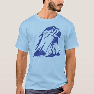Camiseta Imagem azul do falcão