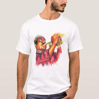 Camiseta Imagem da cor de MacTontoh no fundo escuro