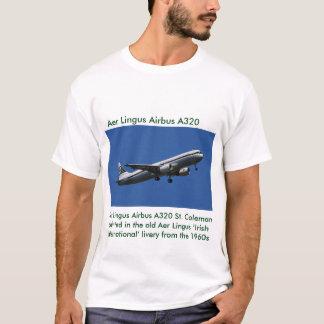 Camiseta Imagem de Aer Lingus Airbus A320 para o t-shirt