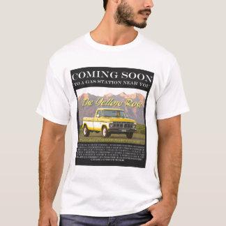 Camiseta Imagem do cartaz cinematográfico do rosa amarelo