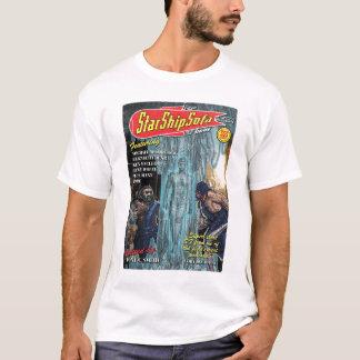 Camiseta Imagem do cobrir das histórias de StarShipSofa no
