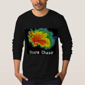 Camiseta Imagem do radar do eco do gancho do caçador da