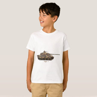 Camiseta Imagem do tanque para o t-shirt do Hanes TAGLESS®