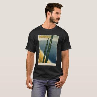 Camiseta imagem do vintage de Crimeia
