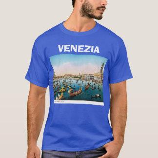 Camiseta Imagem do vintage de Veneza, Italia, 1910
