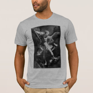 Camiseta Imagem do vintage - Tshirt de Michael do arcanjo