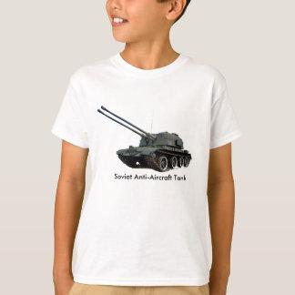 Camiseta Imagem militar do tanque para a menino-t-camisa