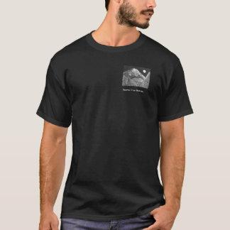 Camiseta Imagem pequena do tshirt escuro