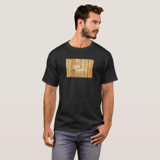 Camiseta Imagem pública - madeira