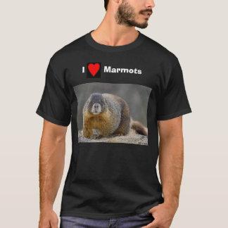Camiseta imagens, CO_Marmot02, marmota       de I