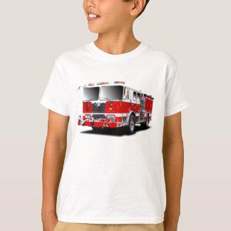 Camiseta Imagens da viatura de incêndio para o t-shirt dos