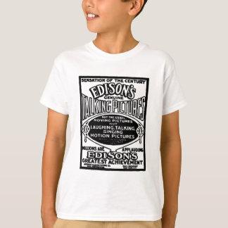 Camiseta Imagens de fala 1913 de Edison
