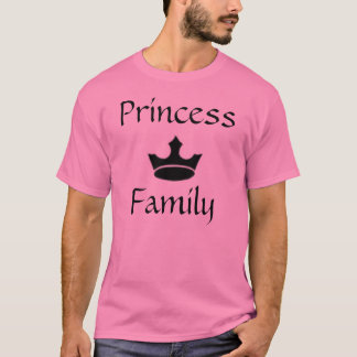 Camiseta imagens, princesa Família