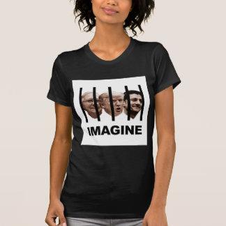 Camiseta Imagine o trunfo, o McConnell e o Ryan atrás dos