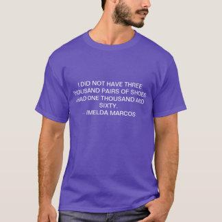 Camiseta Imelda marcos