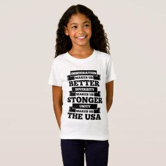 Camiseta Imigração EUA