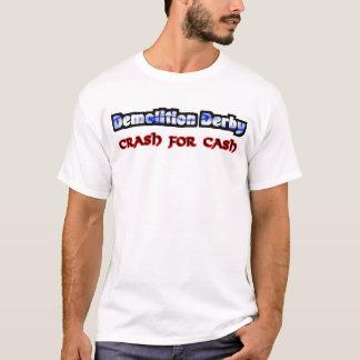 Camiseta Impacto de Derby da demolição para o dinheiro