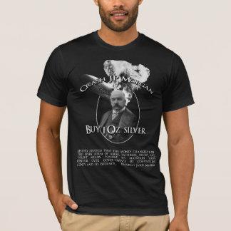 Camiseta Impacto JP Morgan com citações de Madison