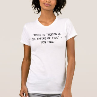Camiseta Império das mentiras
