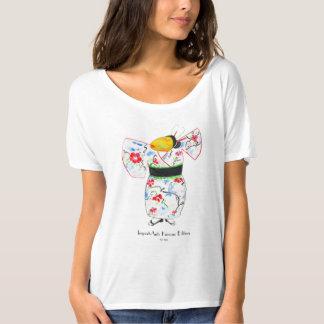 """Camiseta """"Importante (edição japonesa)"""" na aguarela"""