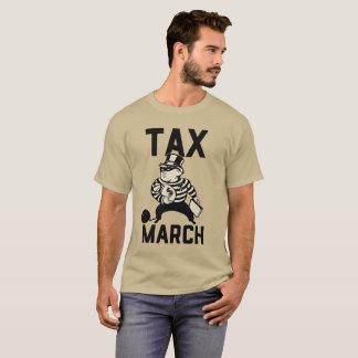 Camiseta Imposto março do trunfo - mostre-nos seus impostos