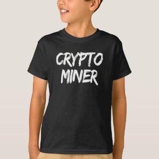 Camiseta Impressão cripto de Cryptocurrency do mineiro