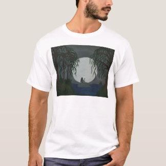 Camiseta Impressão da arte da solidão