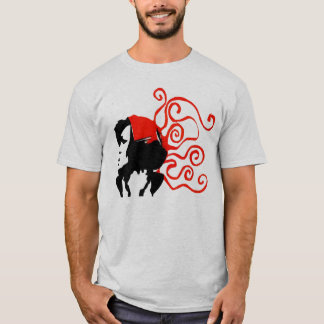 Camiseta Impressão da cabeça de Octo