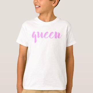 Camiseta Impressão da rainha