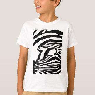 Camiseta Impressão da zebra