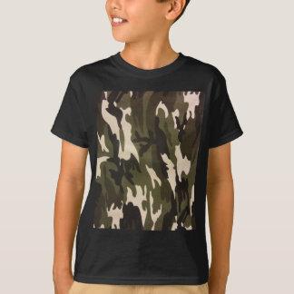 Camiseta Impressão de Camo