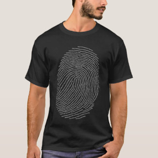 Camiseta Impressão digital
