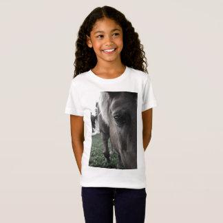 Camiseta Impressão do cavalo