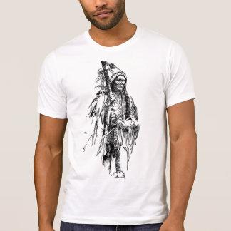 Camiseta Impressão do nativo americano