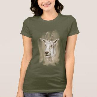 Camiseta Impressão do t-shirt da cabra de montanha
