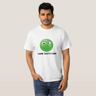 Camiseta Impressão engraçado do cozinheiro no t-shirt do