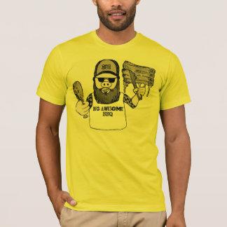 Camiseta Impressionante e amarelo grandes!