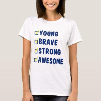 Camiseta Impressionante forte bravo novo