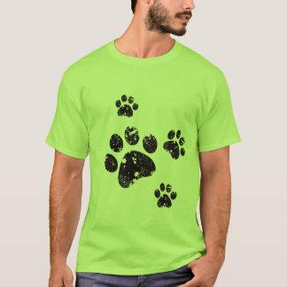 Camiseta Impressões da pata