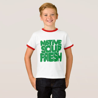 Camiseta Impressões legal, miúdo fresco!