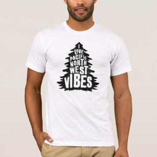 Camiseta Impressões noroestes pacíficas