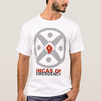 Camiseta Incas do T da emergência