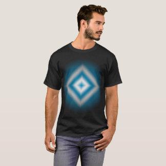 Camiseta inclinação azul do diamante do Personalizar-céu