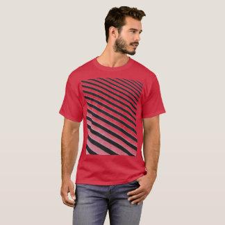 Camiseta Inclinação listrado