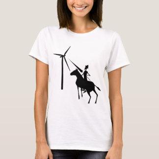 Camiseta Inclinação no t-shirt das turbinas