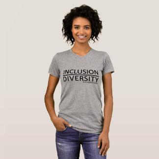 Camiseta Inclusão sobre a diversidade