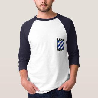 Camiseta Incursores primeiramente! T do basebol