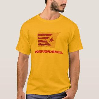 Camiseta Independência Catalan (homens/unisex)