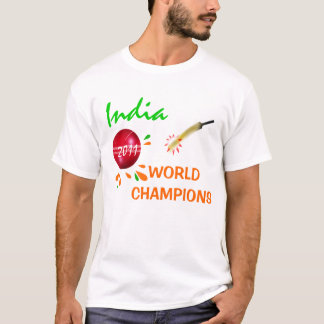 Camiseta India 2011 campeonatos do mundo do grilo ICC